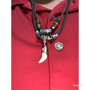 National Wind Necklace Ornaments Hipster Vintage